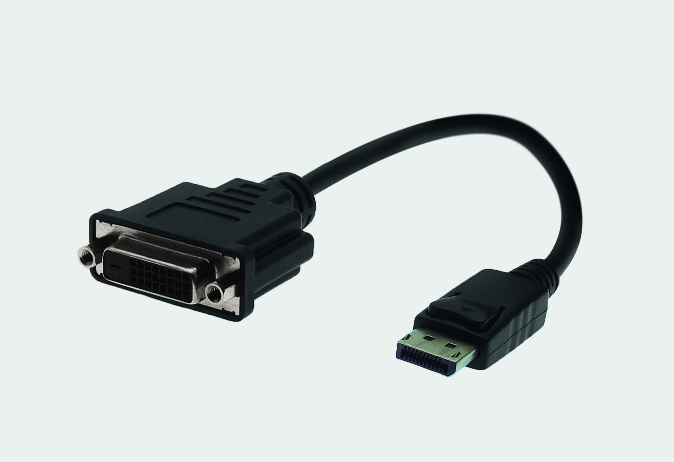 Adapter Cable DisplayPort Male with latch lock / DVI Female