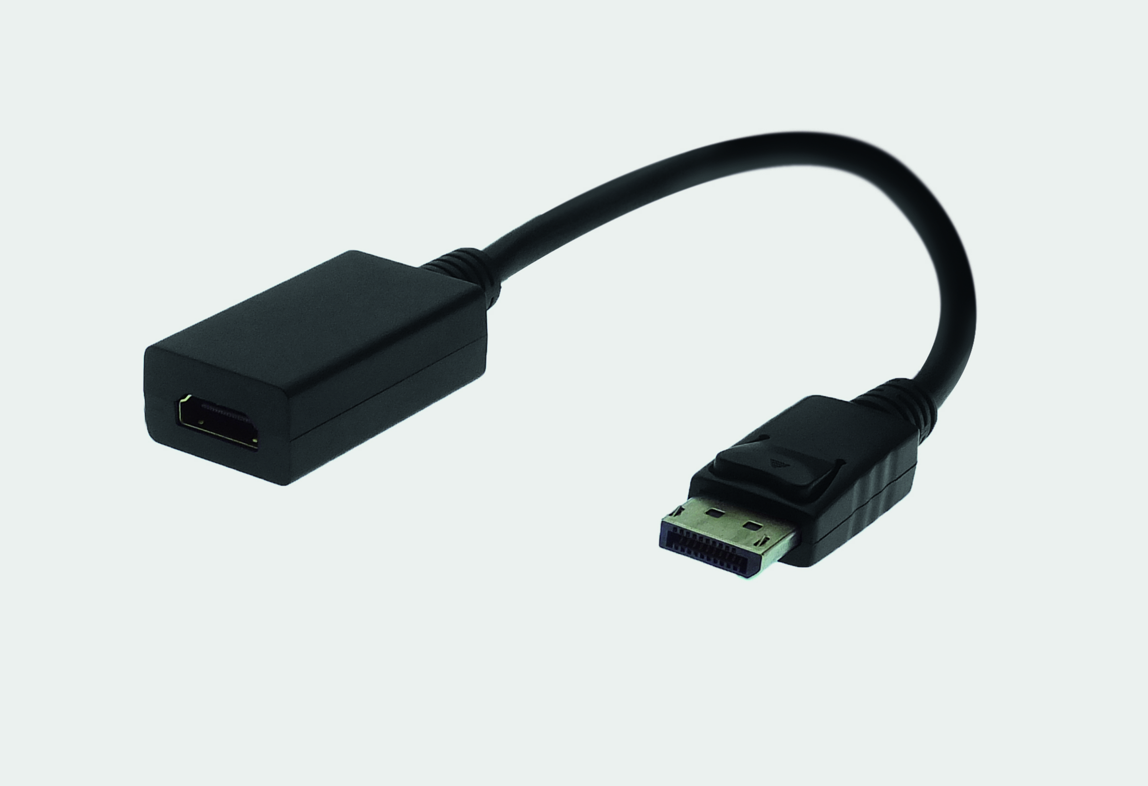 Adapter Cable DisplayPort Male with latch lock / HDMI Female