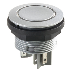 Shortron/Pushbutton with ring illumination