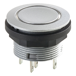 Shortron/Tactile Pushbutton with ring illumination