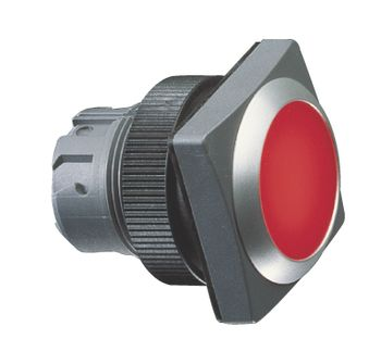 Pushbutton, flush lens, square collar RAFIX 22 QR