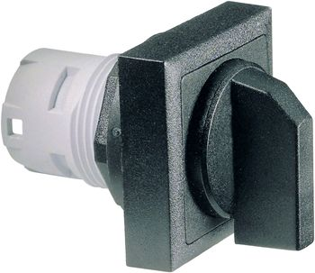 Selector switch, square collar, alignable without gaps RAFIX 16