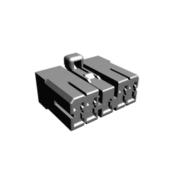 Multiple interlock connector (MIC) <Mark II> series connector housing