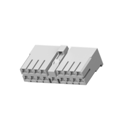 Multi-interlock connector series, connector housing