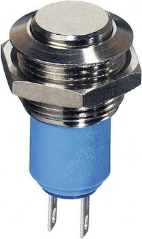 Tamper-proof pushbutton 250 V AC 1.5 A