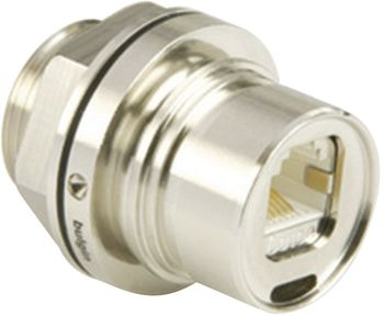 Built-in coupling RJ45