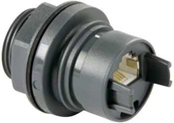 Built-in coupling thermoplastic RJ45