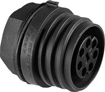 Bullet connector Plug, mount Series (connectors): EXP
