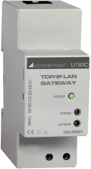 Ethernet interface to the energy counters