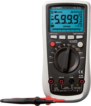 Handheld multimeter Digital VC830