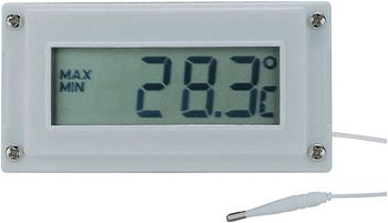 LCD Digital Thermometer and Clock