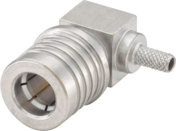 QMA connector Plug, right angle