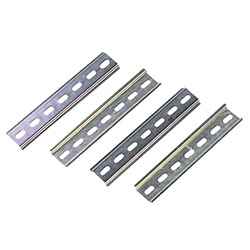DIN rail perforated Steel plate