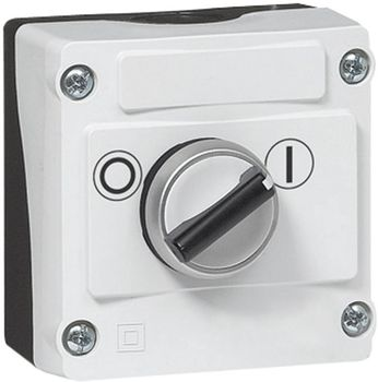 Rotary switch + enclosure