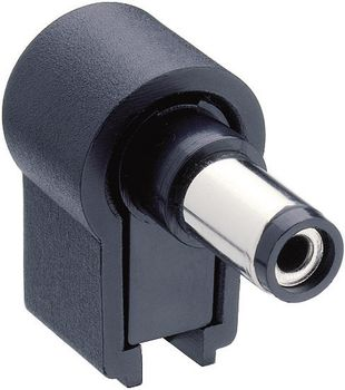 Low power connector Plug, right angle
