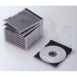 Blu-ray/DVD/CD Case (Standard / PS / Single Disk Storage)
