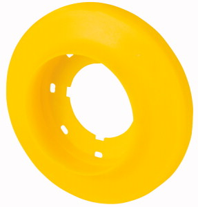 Illuminated ring, LED, D=60mm, 120VAC, yellow