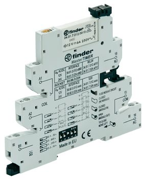 MasterTIMER coupler relay with EMR relay output 39.81 (EMR)