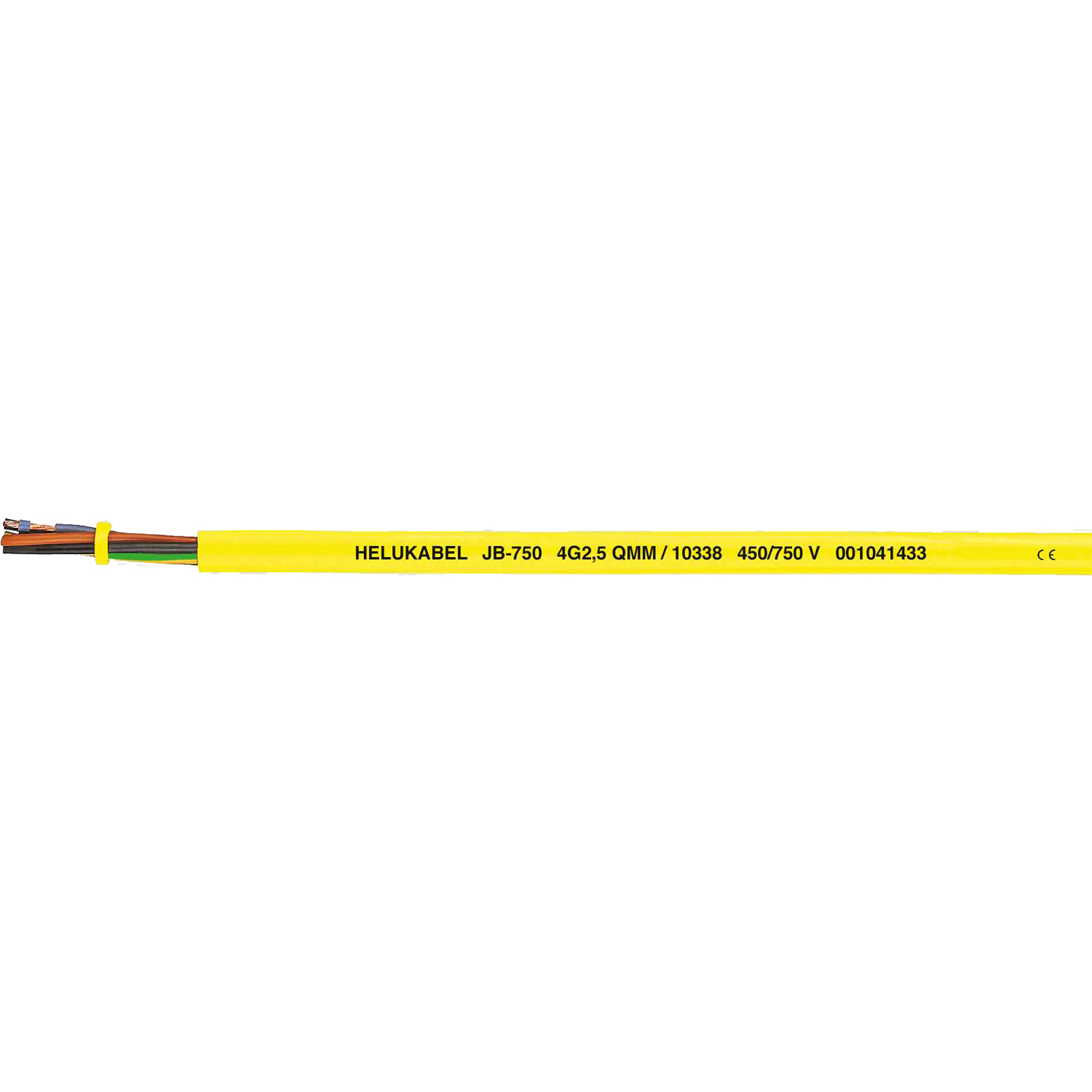 Control Cable PVC JB 750 yellow