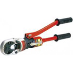 For Use with Bare crimp Terminals and Sleeves (Manual Hydraulic Tool)
