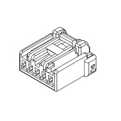 2.50 mm Pitch Connector for Relays, Receptacle Housing (500592)