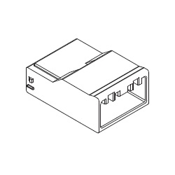 2.50 mm Pitch Connector Plug Housing for Relays (500593)
