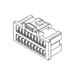 Pico-Clasp Wire-to-Board Connector, Receptacle Housing (501189)