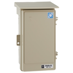 Wall Box, Roof Included (Vertical)