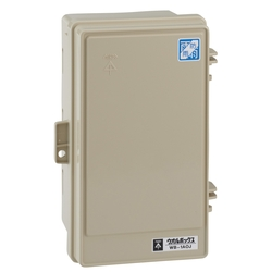 Wall Box, Roof-Less (Vertical)