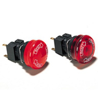 Emergency Stop Push Button Switch (ø16) A165E