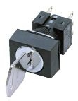 Key-Type Selector Switch (Detachable) (Cylindrical ø16) A165K