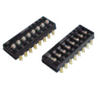 Surface Mounted DIP Switch A6SN