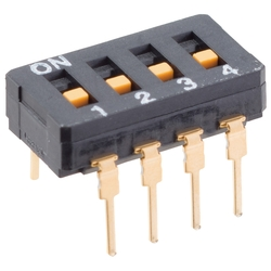 Seal Type DIP Switch A6D/A6DR