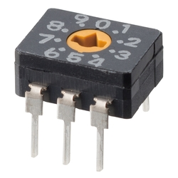 Sealed Rotary DIP Switch A6C/A6CV