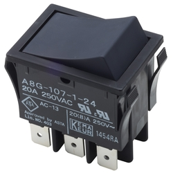 Rocker Switch with Reset Function, A8G