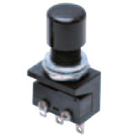 Super-Small Push Button Switch (Round Body, ø10.5), A2A