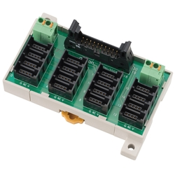 Connector Terminal Block Conversion Unit Common Terminal Block 16-Point (e-CON Type), XW2N