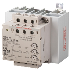 Solid State Contactor for 3-Phase Motor G3J-T-C