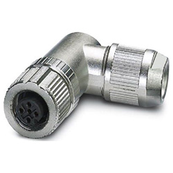 Bus connector SACC, Socket angled M12, A-coded