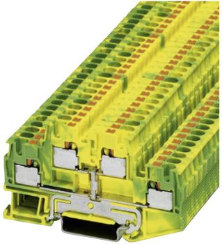 Protective conductor double-level terminal block PTTB 4