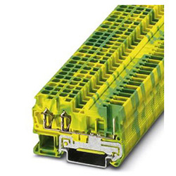 Ground modular terminal block ST 2,5-TWIN