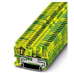 Ground modular terminal block ST 4/ 1P-PE