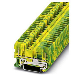 Ground modular terminal block ST 4/ 2P-PE