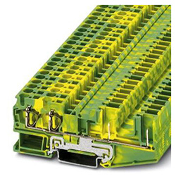 Ground modular terminal block ST 4-QUATTRO/2P-PE