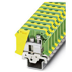 Ground modular terminal block UISLKG 35-1
