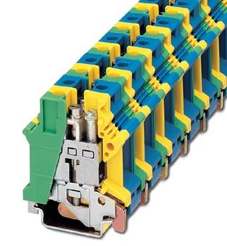 Ground modular terminal block UK 16 N-PE/N