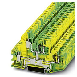 Double-level spring-cage terminal block STTBU