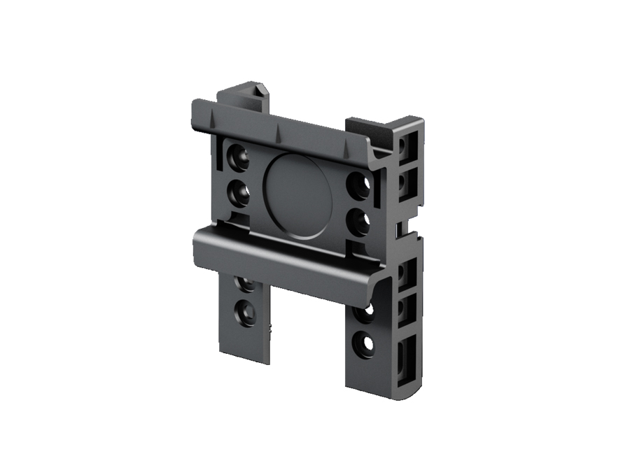Support rail for Comfort component adaptor