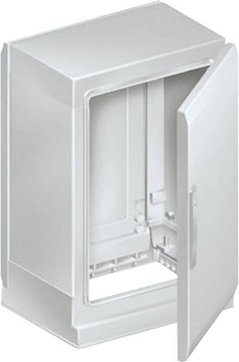 Floor-standing enclosure polyester vers. PLAZ w/plinth open bottom