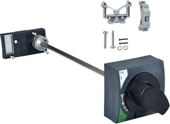 Rotary operation with door interlock